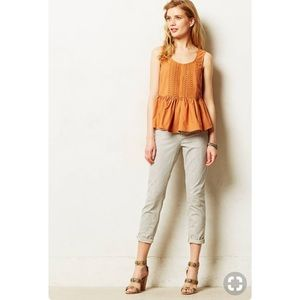 Anthropologie orange tank